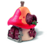 schleich smurfs house mushroom fitted windows