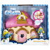 smurfs mushroom house smurfette movie scale