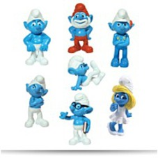 On Sale2011 The Movie 1 5 Inch Figurines Set
