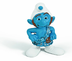 schleich gutsy smurf figure mark film