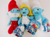 smurfs plush complete includes papa smurf
