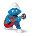 schleich lead guitar player smurf band