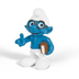 schleich north america brainy smurf book