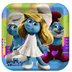 hallmark smurfs dinner plates party lunchdinner