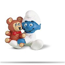 Discount Baby Smurf Figure With Teddy