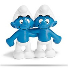 On SaleGemini Smurf Figure