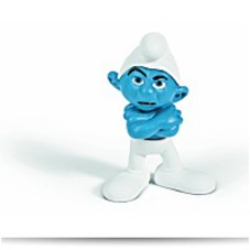 Discount Grouchy Smurf Figure