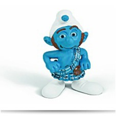 On SaleGutsy Smurf Figure