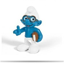 Discount North America Brainy Smurf With Book