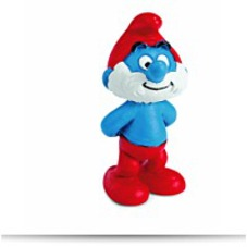 North America Papa Smurf Figure