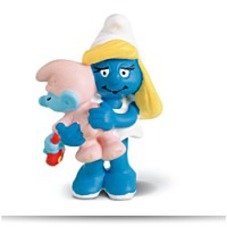 On SaleNorth America Smurfette With Baby