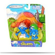 Pacific 2 Figure Pack Tracker Smurf
