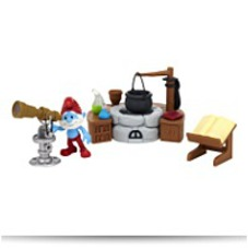 Papa Smurfs Lab Gift Set Movie Adventure
