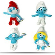 Discount Plush Set Complete Smurfs 9 Plush Set