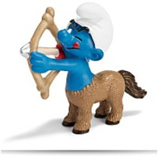 On SaleSagittarius Smurf Figure