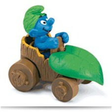 Discount Smurf In Car Toy Figure