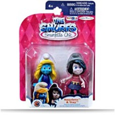 Smurfette And Vexy 2 75 Figure 2PACK
