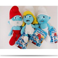 Discount Smurfs Plush Set