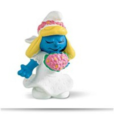 On SaleSmurfs Smurfette Bride