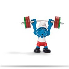 Discount Weightlifter Figure