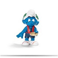Winner Smurf Figure