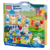mega bloks smurfs smurf's celebration hidden