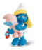 schleich north america smurfette carrying little