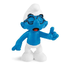 brainy smurf typical stereotype wears glasses