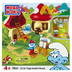 megabloks papa smurf -papa house -build
