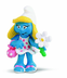 schleich north america smurfette flower pretty