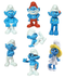 smurfs movie figurines figures smurf based