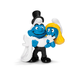 schleich bride groom smurf figure must
