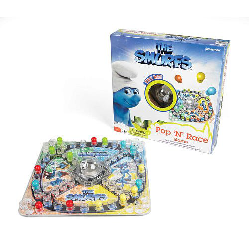 Smurfts Pop N Race Game
