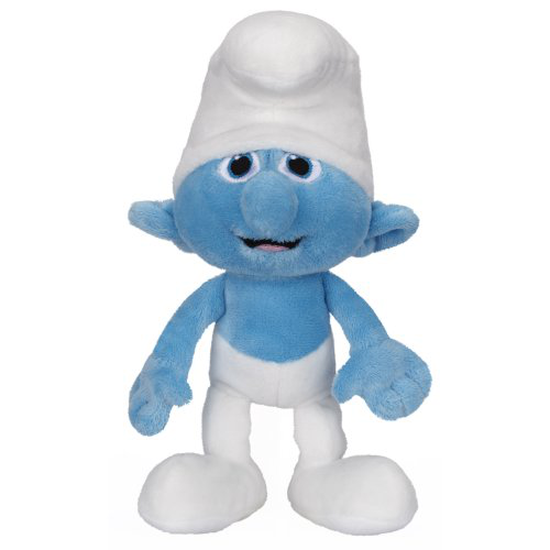 Smurfs Bean Bag Plush Wave #1 Clumsy