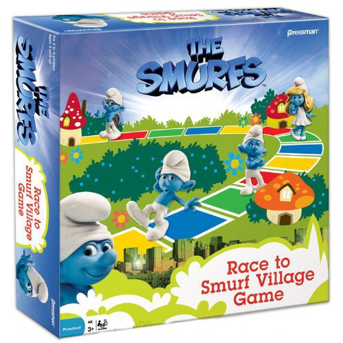 Race To Village Board Game