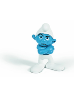 Grouchy Smurf Figure