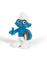 North America Brainy Smurf With Book