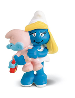 North America Smurfette With Baby