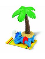 Smurf On Holiday Toy Figure