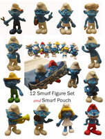 Smurfs 2 5 Toy Play Set And Carry Bag