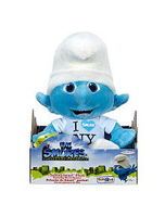 Smurfs Movie Exclusive Talking Plush